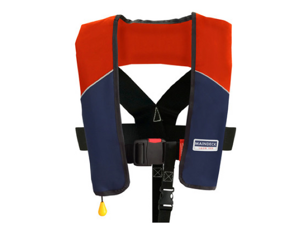 Maindeck ISO 180N Lifejacket Waistbelt UML Auto Red/Navy