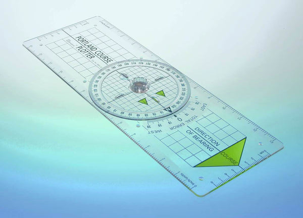 "Portland Course Plotter Kit includes 7"" S/S Brass Dividers"