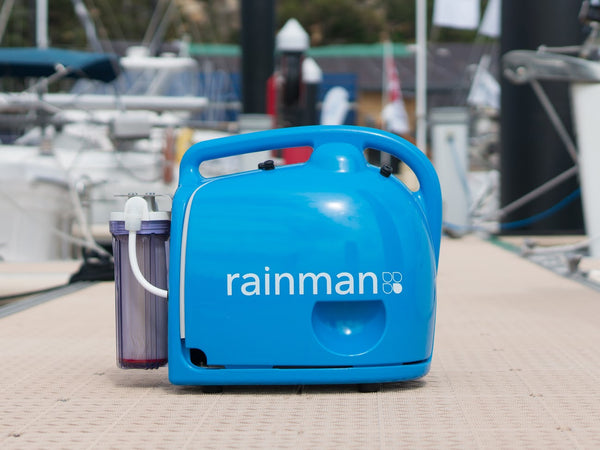 Rainman Water Maker Systems Petrol, Electric 230V or 12V - Freshwater in 2 Minutes - New 2021 Models - With Fitted Water Flow Gauge