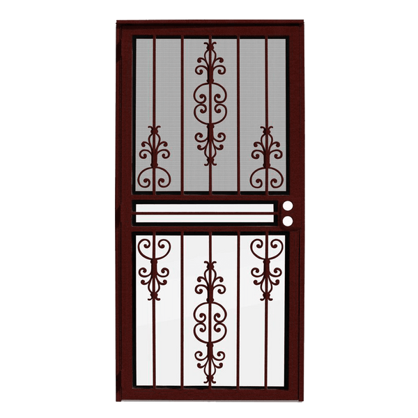 Estate Wineberry Recessed Mount Outswing Security Door