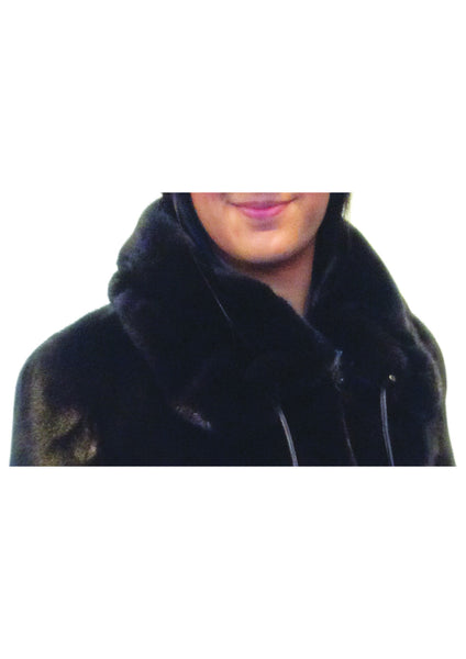Mink Jacket With Drawstring