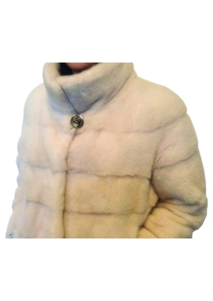 Short Pearl Mink Jacket