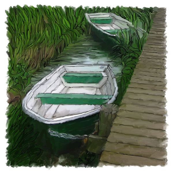 111 Green Rowboats