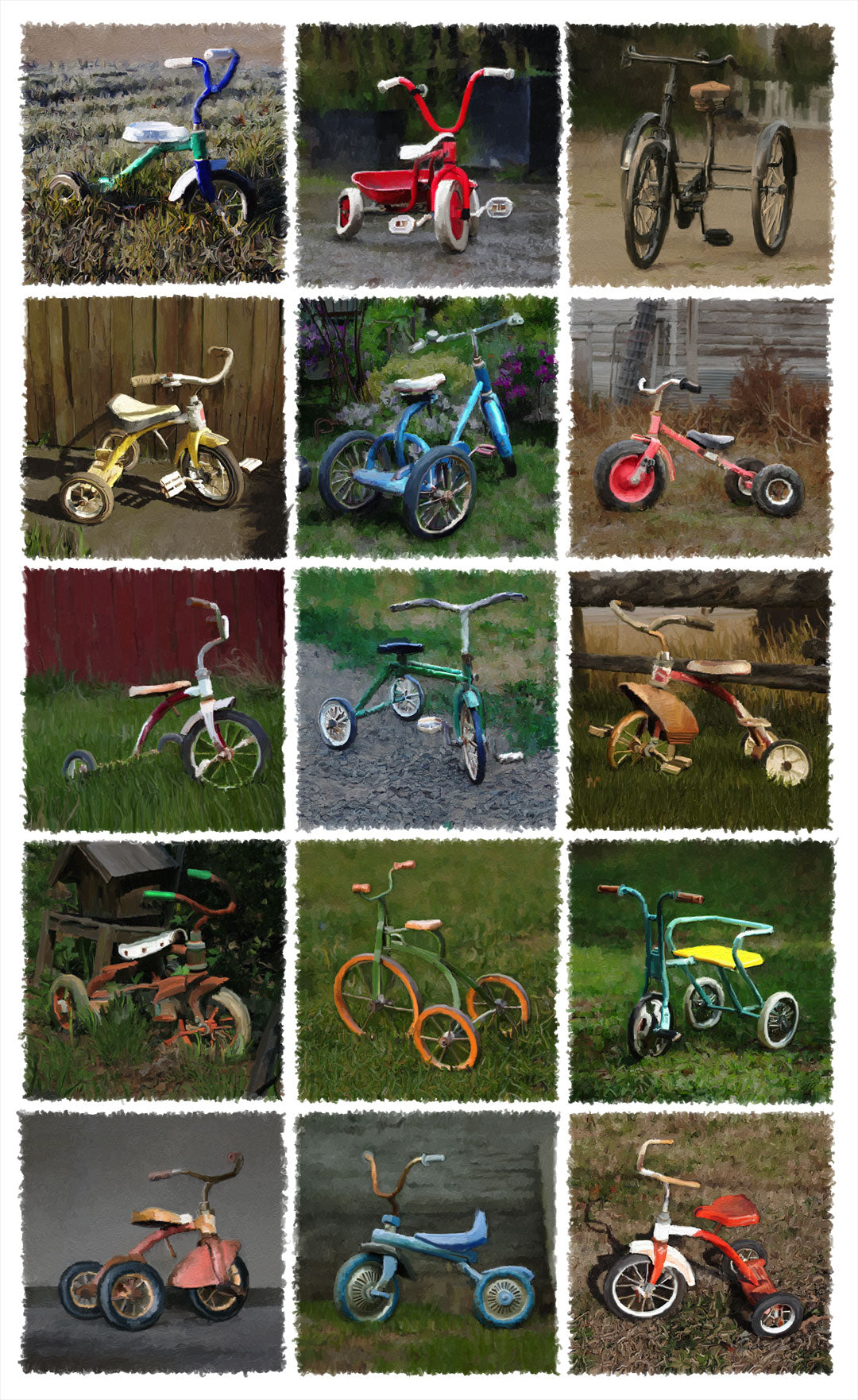 04 - Fifteen Tricycles