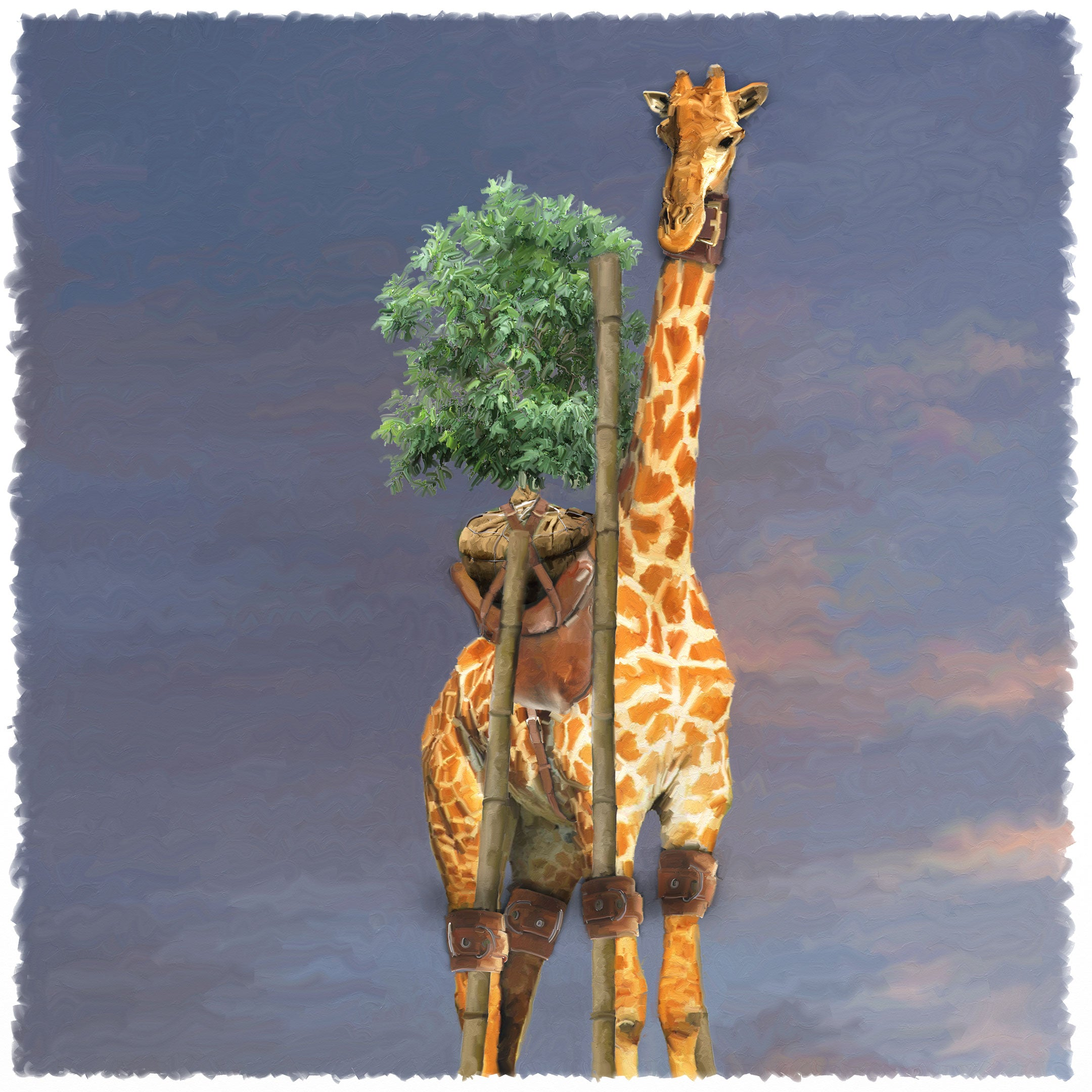 13 - The Giraffe and the Tree