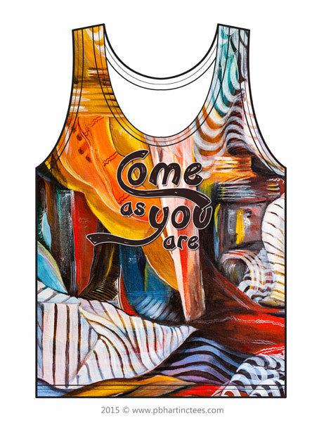 Come as You Are - Warm Abstraction Tank