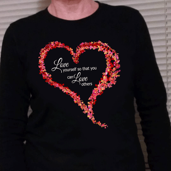 Long Sleeve Love Yourself First T-Shirt