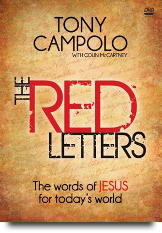 The Red Letters Tony Campolo Colin McCartney World Vision
