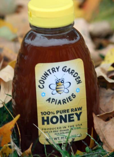 16 oz. Pure Raw Honey