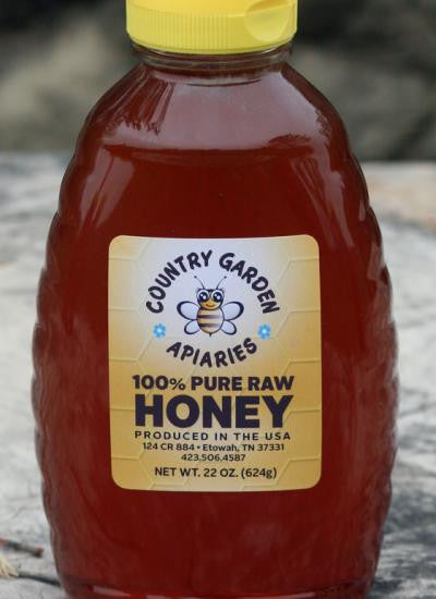 22 oz.Pure Raw Honey