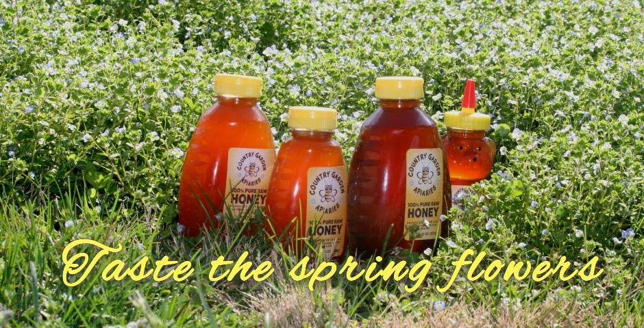 Enjoy delicious pure raw honey all winter long!
