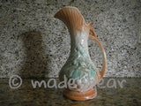 Vintage 1940's McCoy Pitcher Berries or Grapes & Leaf Design