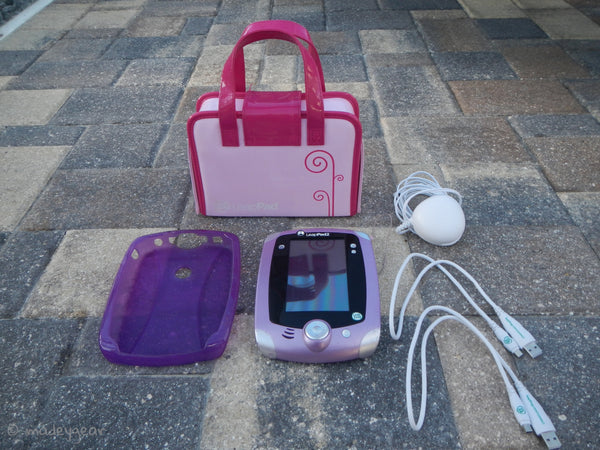 Leap Pad 2 Explorer with 10 Games and Pink Carrying Case