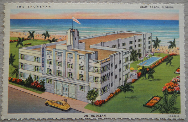 The Shoreham Miami Beach Florida
