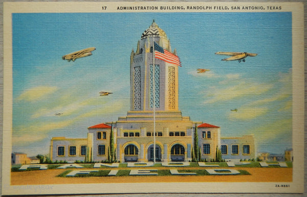 Randolph Field Administration Building, San Antonio Texas