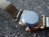 Vintage Wittnauer Geneve Ladies Watch with Kestenmade 10KT GF Mesh Band- WORKS