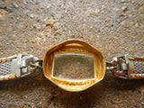 Vintage 1950's BUREN Women's Watch Wind Up Kreisler Band- Works