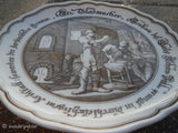 "Hutschenreuther Collectors Plate ""The Glass Maker"" Made In Germany~Pieroth"