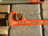 "Vintage Lot of 3 Wrenches 14"",10"",8"" RIDGID,  ROXCO, STILLSON"