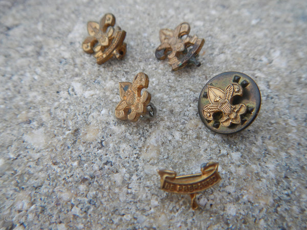 Vintage 1970's Boy Scouts B.S.A. Pins THANKS Pin