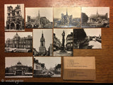 Antique Vintage French Photo Postcards Amiens Cathedrale Cirque Beffroi Horloge