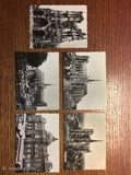10 Antique Vintage French Photo Postcards Amiens Cathedrale Cirque Beffroi Horloge