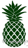 Car Window Vinyl Decal Sticker- Tropical Pineapple Hawaiian Polynesian Fruit