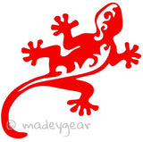 Car Window Vinyl Decal Sticker- Beach Lizard