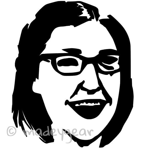 Car Window Vinyl Decal Sticker- The Big Bang Theory- Amy Farrah Fowler