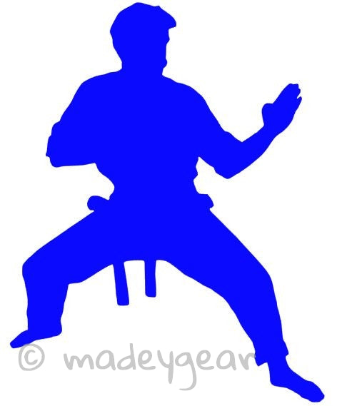 Car Window Vinyl Decal Sticker- Sports  Martial Arts- Ready