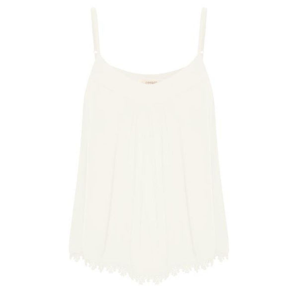 Cream - Camisole ALLIE - Forever Mlle