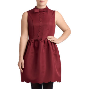 Robe Queen B. - Bordeaux / Xs - Robe