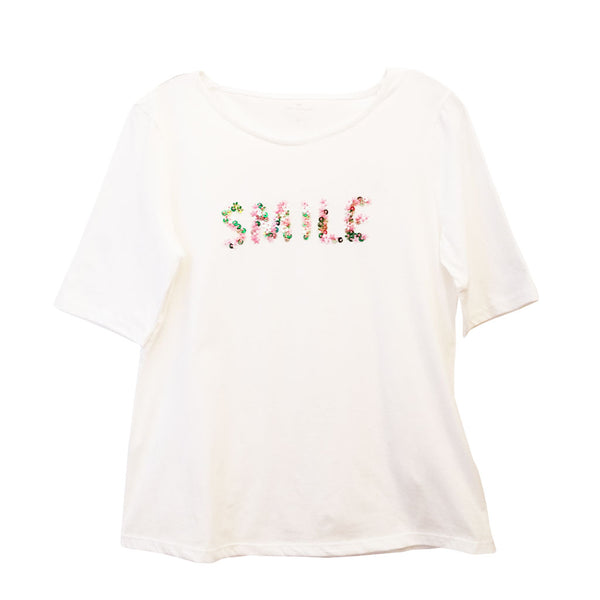 Tom Tailor - T-Shirt SMILE - Forever Mlle