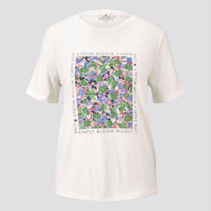 Tom Tailor - T-Shirt BLOOM - Forever Mlle