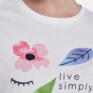 Tom Tailor - T-Shirt LIVE SIMPLY - Forever Mlle