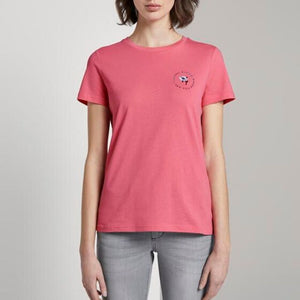 Tom Tailor - T-Shirt PINK FLOWER - Forever Mlle