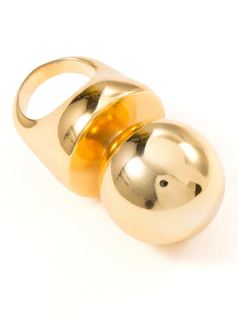 Carlo Chrome Ring