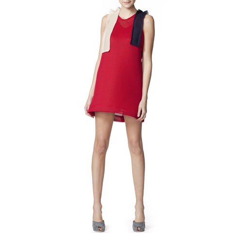 Neoprene Frill Dress
