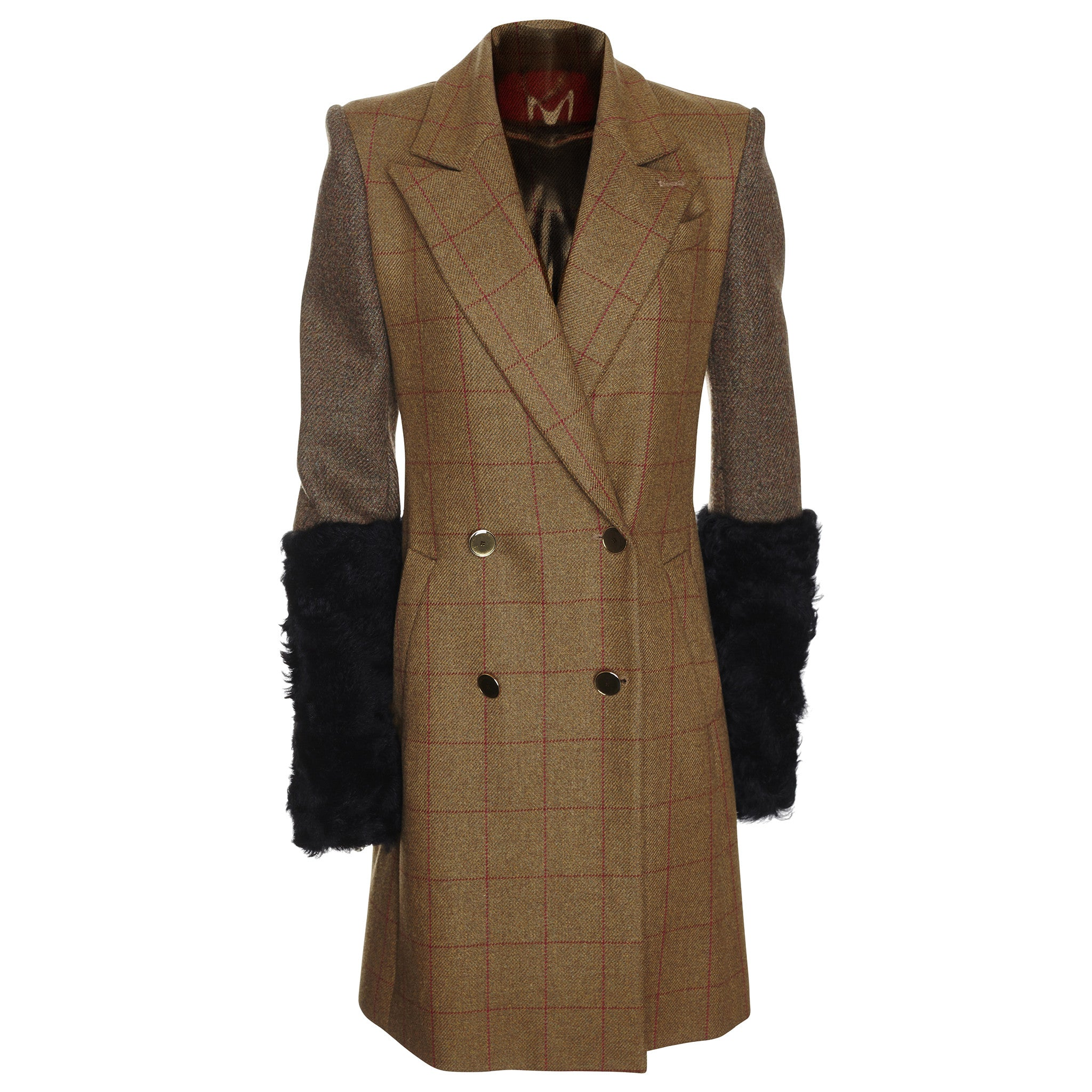 Heritage Shearling Officer's Coat