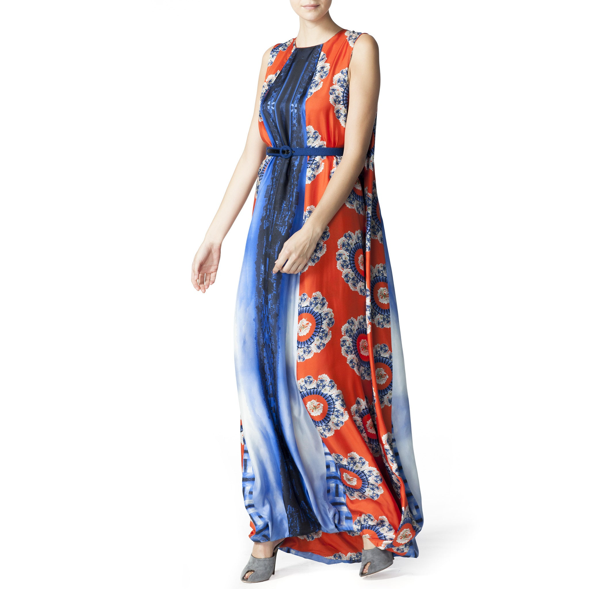 Printed Gown