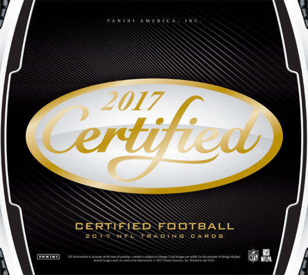 2017 Certified Football Full 12 Box Inner Case *Pick Your Team* Break #1 (TEXANS Randomed To Someone In Break)(Releases 7/26)