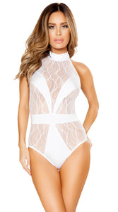 REFLECTIONS V-COVERED ROMPER