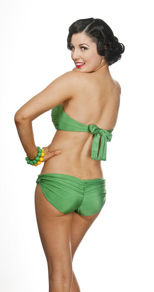 HIPSTERS SWIMWEAR BOTTOM WITH RUCHED BACKSIDE - Bokeelia Boutique