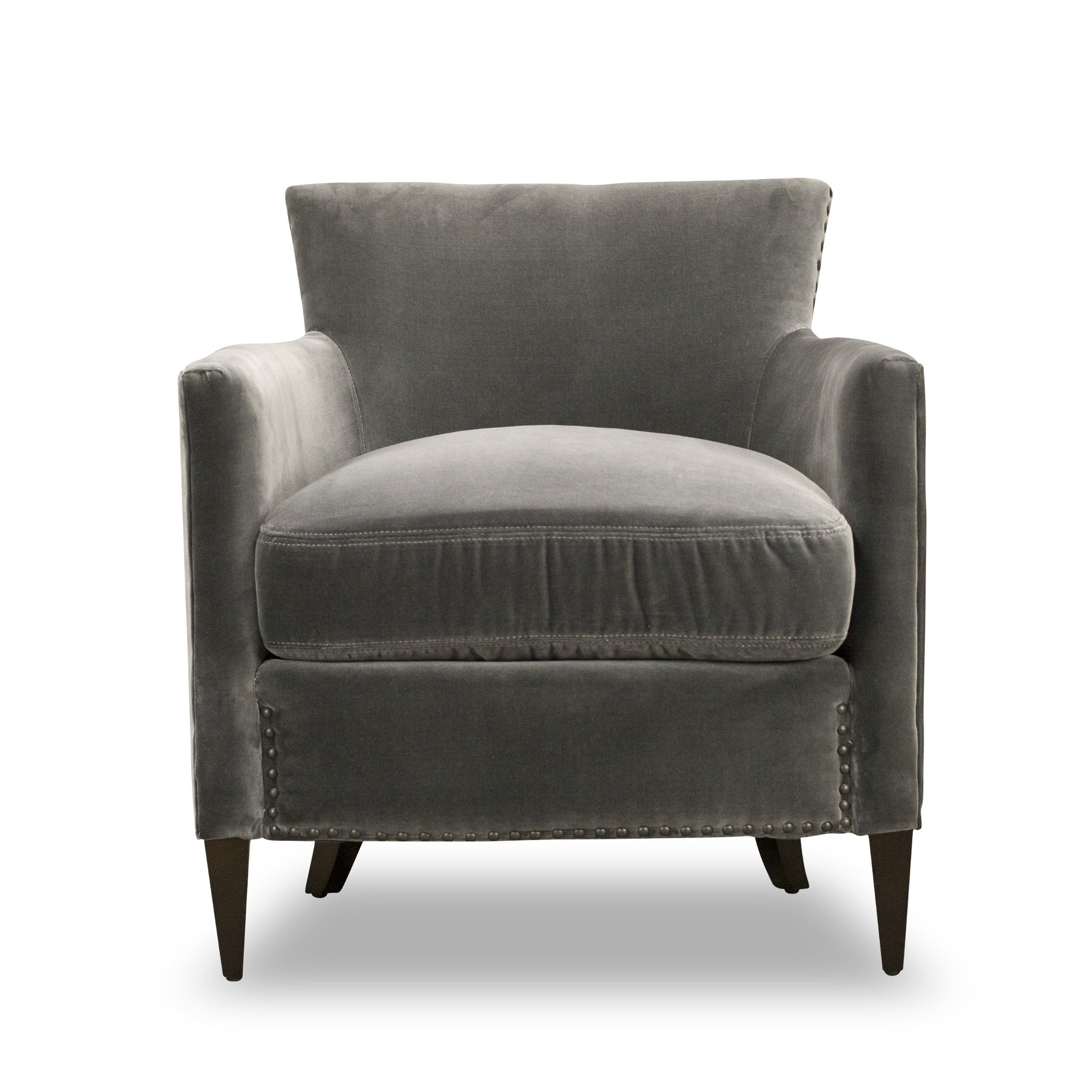 gray zoom hover brick item to chair power furniture touch grey product the reclining chairs chenille room living baron