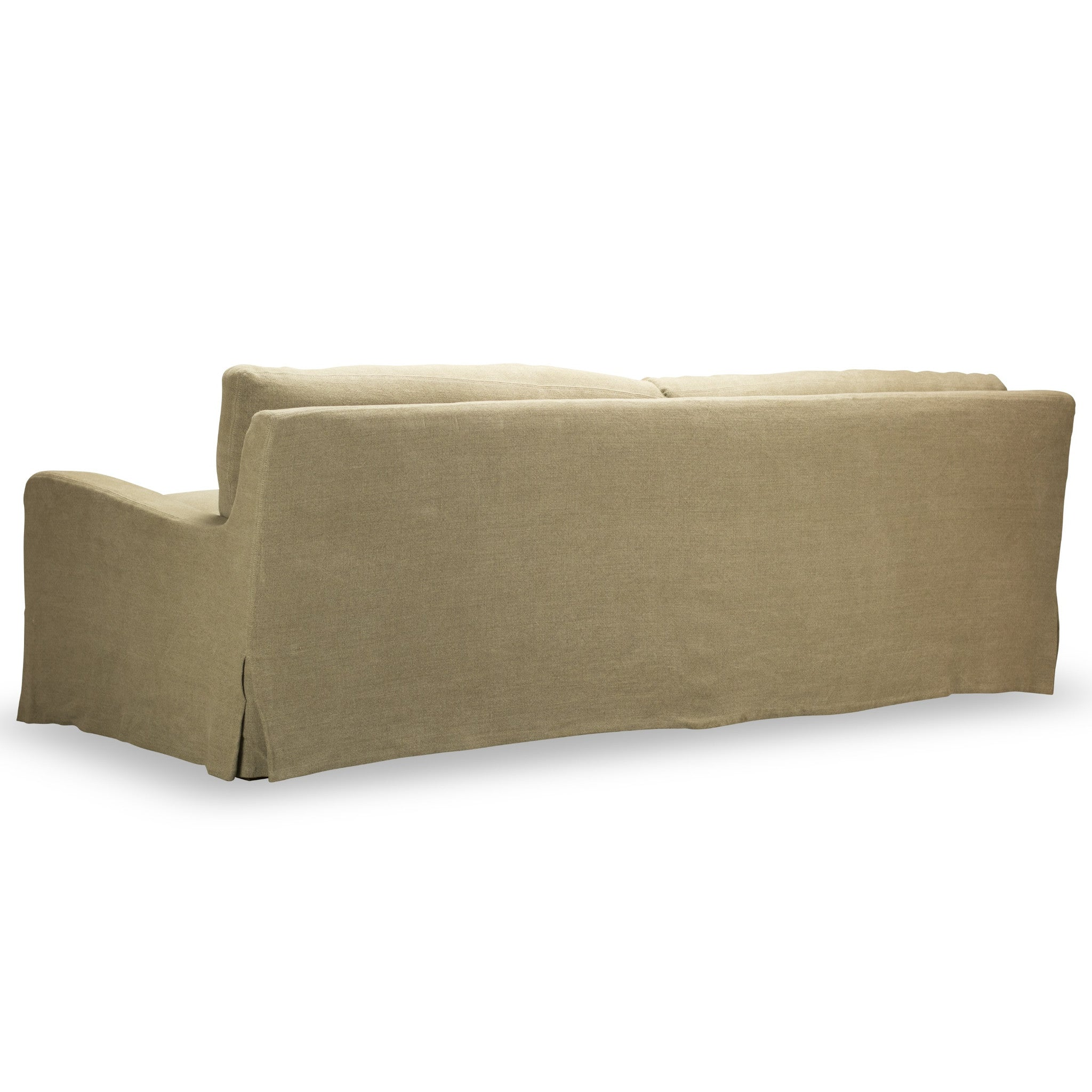 Hampton Slipcover Sofa Natural Spectra Home