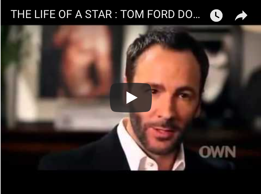 Tom Ford: The Fashion Business