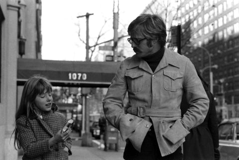 Robert Redford and His Daughter
