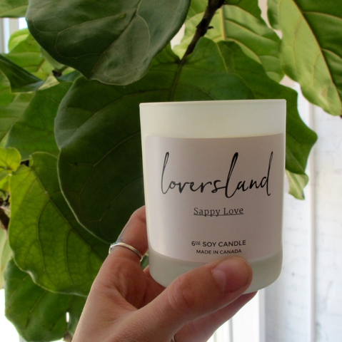 LoversLand Candle Toronto Made