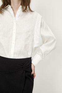 Linneda Shirt White