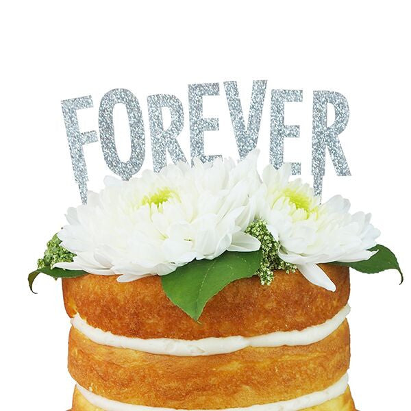 Glitter Forever Cake Topper Alexis Mattox Made in the USA